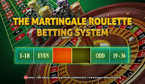 The Martingale Online Casino Betting System Explained