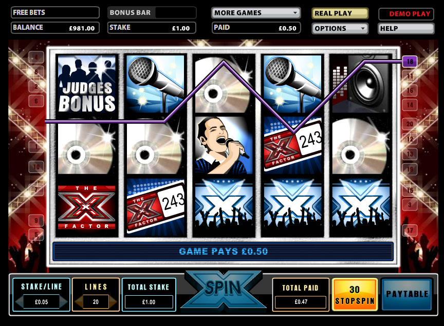 The X Factor Slot Game Reviewed Online for Beginners
